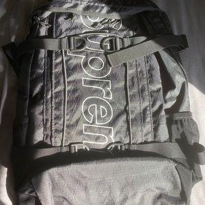 Supreme (FW18) backpack - black